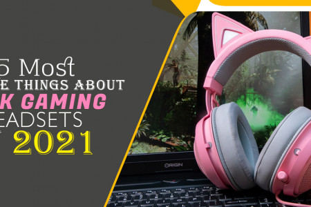 5 Most Positive Things About Pink Gaming Headsets in 2021 Infographic