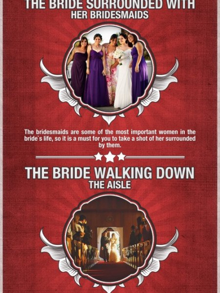 5 Must Have Wedding Poses Infographic