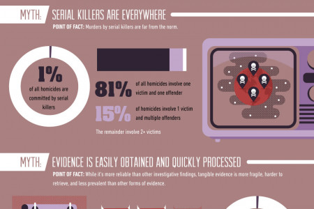 5 Myths About the Criminal Justice Field Infographic