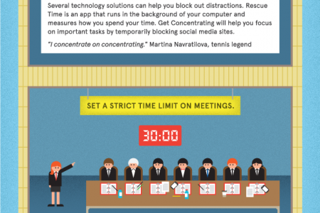 5 Productivity Tips From Incredibly Busy People Infographic