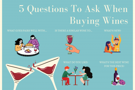 5 Questions To Ask When Buying Wines Infographic