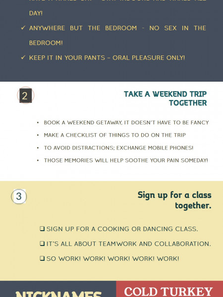 5 QUICK AND PRACTICAL WAYS TO SPICE UP YOUR RELATIONSHIP TODAY Infographic