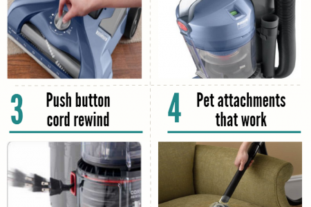 5 Reasons to Consider the Hoover TSeries Pet Infographic