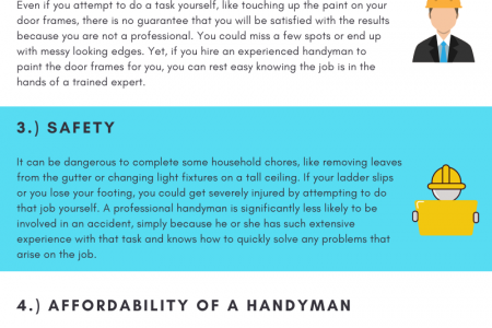 5 Reasons to Hire a Handyman Infographic