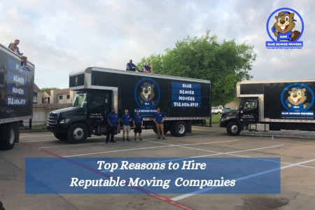 5 Reasons to Hire Reputable Moving Companies Infographic