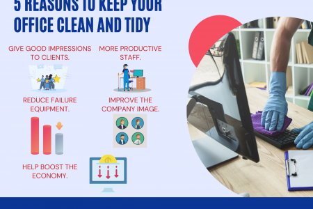 5 Reasons to Keep Your Office Clean and Tidy Infographic