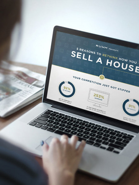 5 Reasons To Rethink How You Sell A House Infographic