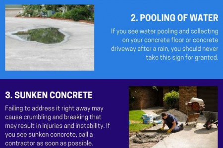 5 Signs Your Concrete Needs Repairing Infographic