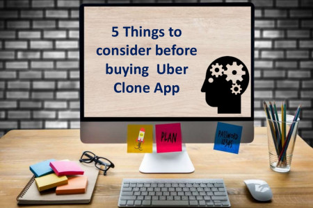5 Things to consider before buying Uber Clone App Infographic