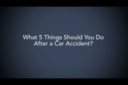 5 Things to do After a Car Accident? Infographic