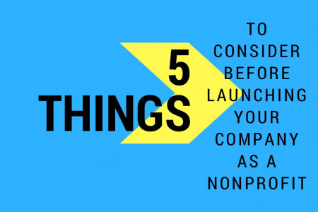 5 Things to Keep in Mind Before You File as a Nonprofit Infographic