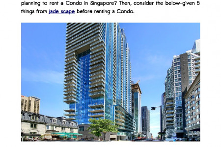 5 Things You Must Check Before Renting A Condo In Singapore Infographic