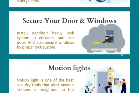 5 Tips By Locksmith Hackensack NJ To Keep Burglar Away From Home Infographic