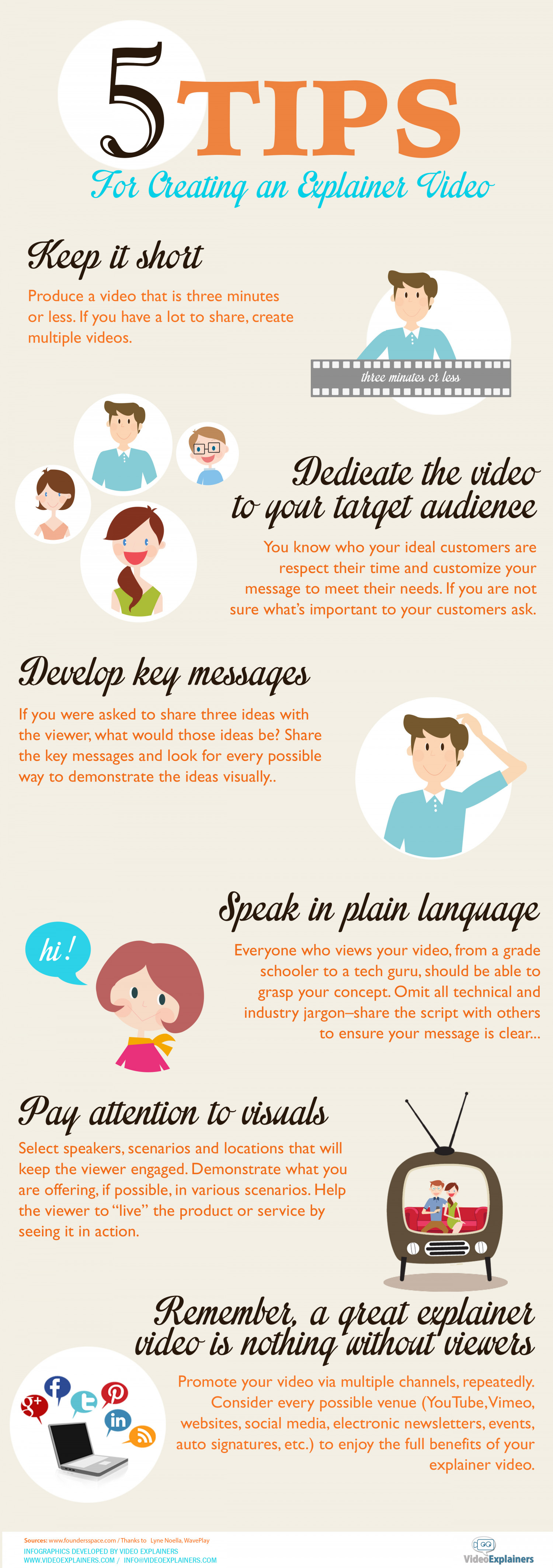 5 Tips for Creating an Explainer Video Infographic