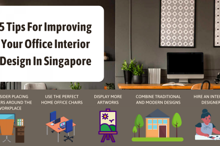 5 Tips For Improving Your Office Interior Design In Singapore Infographic