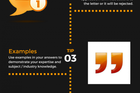5 Tips to Complete Application Forms Infographic