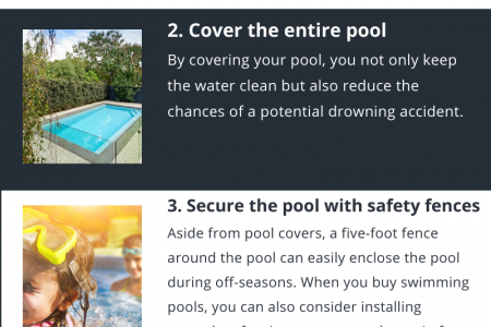 5 tips to keep your pool safe and secure during off-seasons Infographic