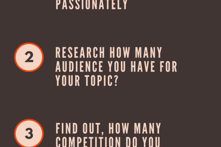 5 Ways To Choose A Good Niche Topic For Your BLOG Infographic