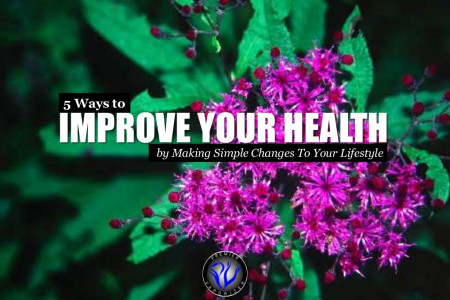 5 Ways to Improve Your Health by Making Simple Changes to Your Lifestyle Infographic