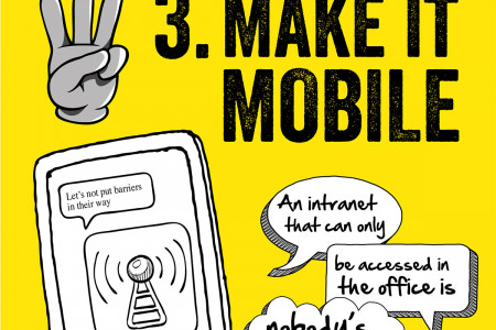 5 Ways to Make Sure Your Intranet Doesn't Suck Infographic