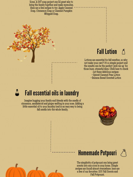 5 Ways to make your house smell like fall  Infographic