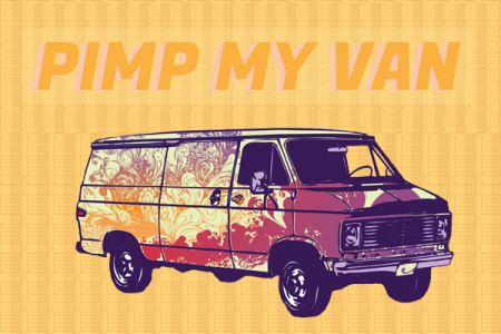 5 Ways to Pimp My Van Infographic