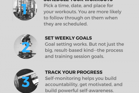 5 Ways to Power Up Your Workout Routine Infographic