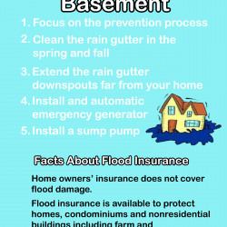 ways to prevent flooded basement