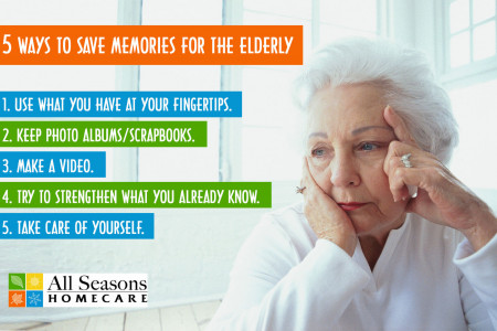 5 Ways To Save Memories For The Elderly Infographic