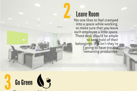 5 WAYS TO TRANSFORM AN OFFICE Infographic