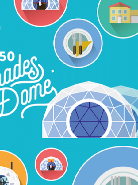 50+ Great Ideas on How to Use a Geodesic Dome  Infographic