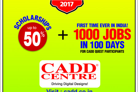 50% Scholarship with Job assurance for 1000 students Infographic