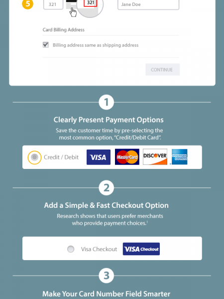 5 Tips for Optimizing Your Checkout Experience Infographic
