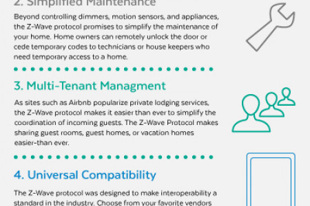 6 Attributes of Z-Wave Infographic