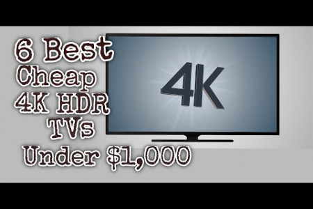 6 Best TVs under $1000 || Best TVs For Gaming Buying Guide Infographic