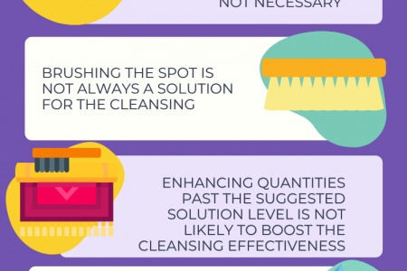 6 Carpet Cleaning & Maintenance Advices To Avoid Problems Infographic
