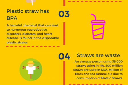 6 Disadvantages to Using Plastic Straws Infographic