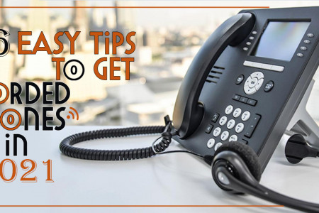 6 Easy Tips To Get Corded Phones in 2021 Infographic