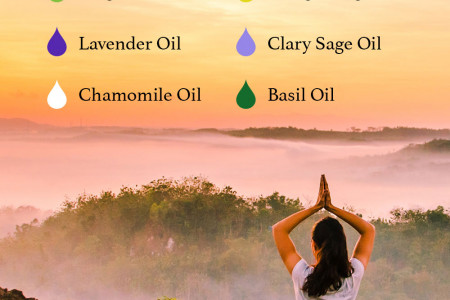 6 Essential Oils for Mental Health Infographic