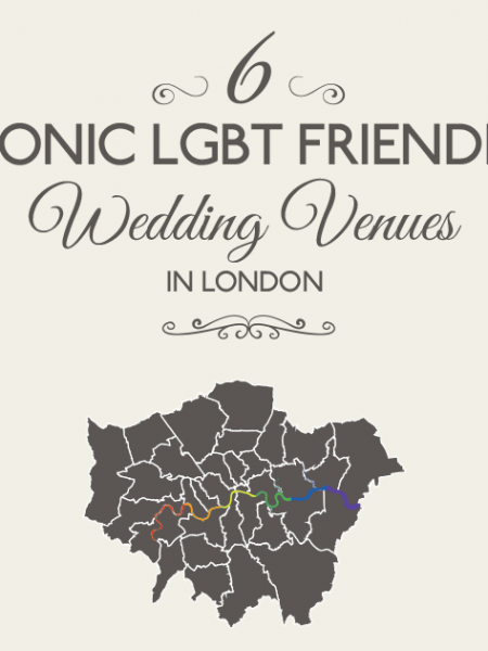 6 Famous LGBT Friendly Wedding Venues in London [infographic] Infographic