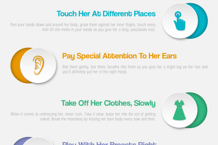 6 Foreplay tips to make her crazy Infographic