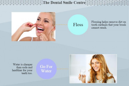 6 Important Steps to Improving Your Oral Health Infographic