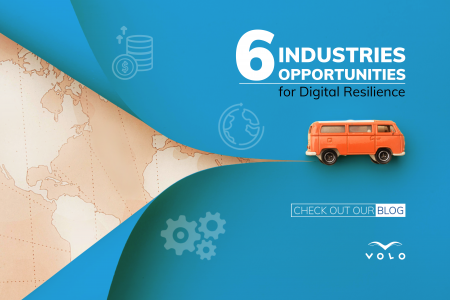 6 Industries, 6 Opportunities for Digital Resilience Infographic