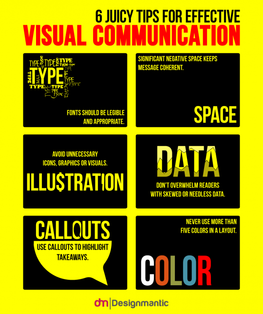 6 Juicy Tips For Effective Visual Communication