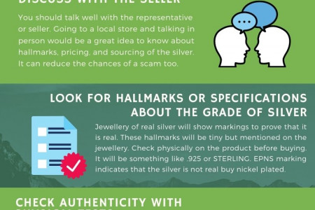 6 MUST-KNOW TIPS FOR BUYING THE VERY BEST SILVER JEWELLERY Infographic