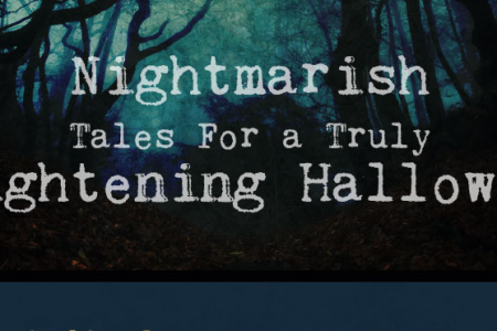 6 Nightmarish Tales for a truly frightening Halloween Infographic