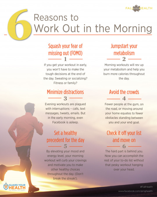 6 Reasons to Work Out in the Morning
