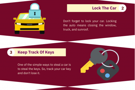 6 Security Tips For Car By Locksmith Bayonne NJ Infographic