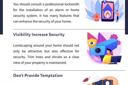 6 Security Tips From Dave's Locksmith Infographic