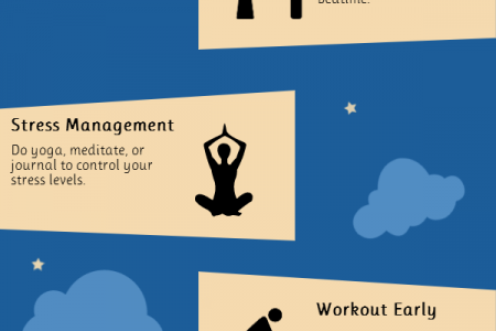 6 Simple Steps to Better Sleep Infographic